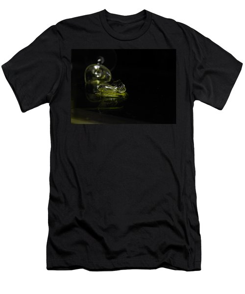 Men's T-Shirt (Slim Fit) featuring the photograph Glass Shard by Susan Capuano