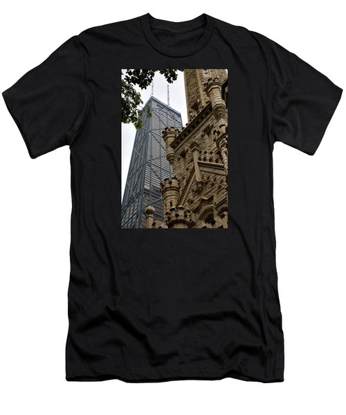 Glass Steel And Stone Men's T-Shirt (Athletic Fit)