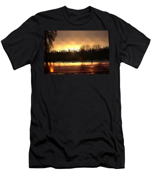 Glassy Dawn Men's T-Shirt (Athletic Fit)