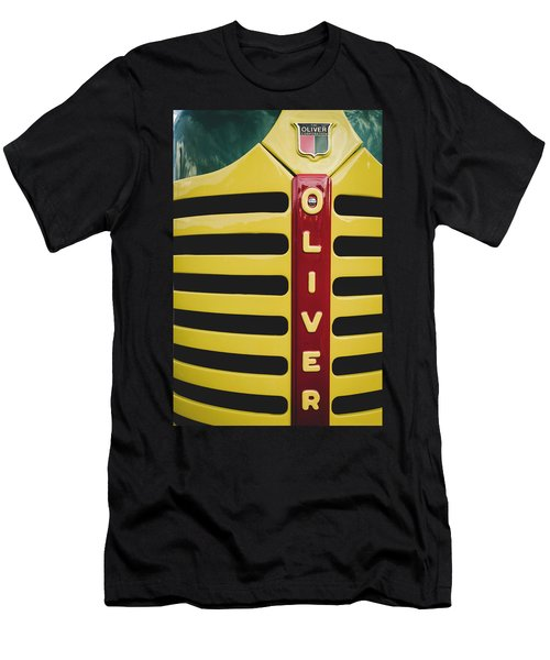 Gleaming Oliver Men's T-Shirt (Athletic Fit)