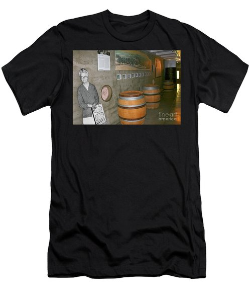 Glen Ellen Wine And History Men's T-Shirt (Athletic Fit)