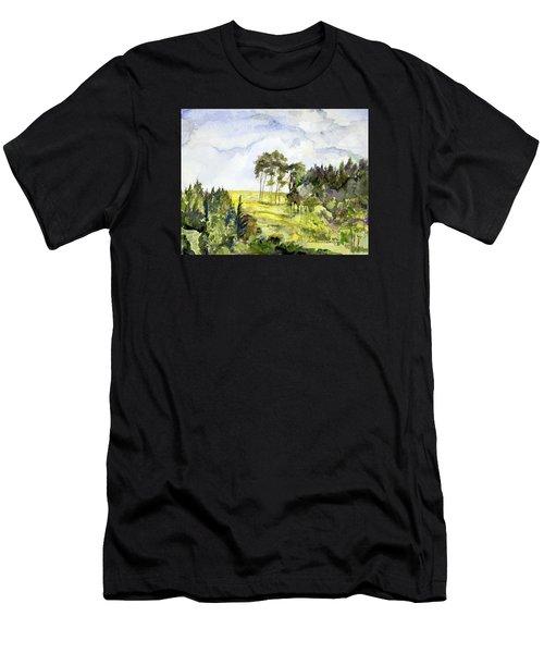 Glendalough Hillside Men's T-Shirt (Athletic Fit)