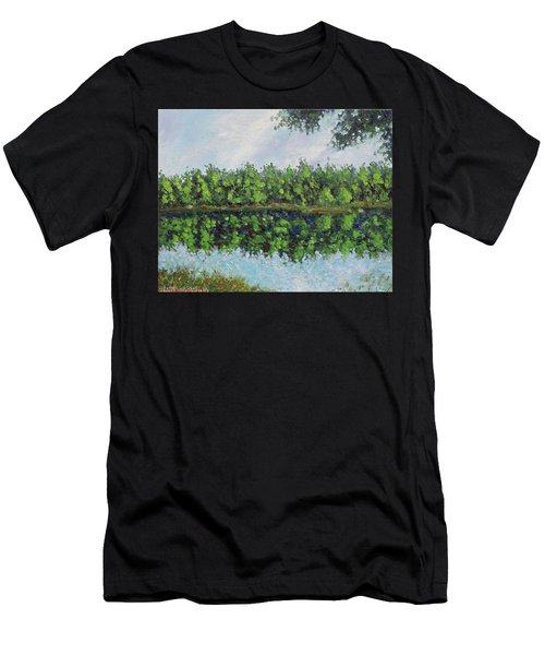 Glenoak Lake Men's T-Shirt (Athletic Fit)