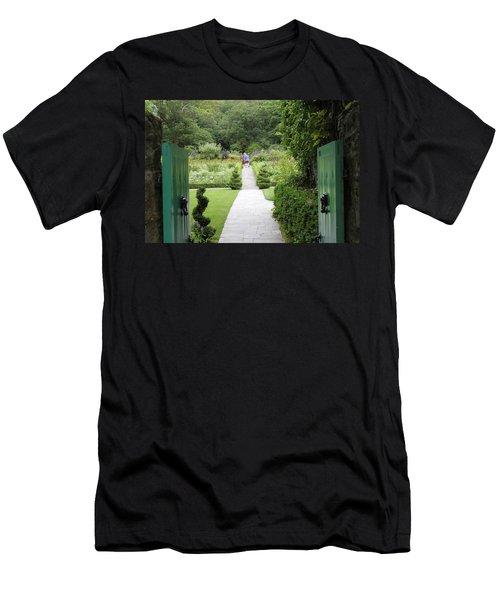 Glenveagh Castle Gardens 4272 Men's T-Shirt (Athletic Fit)