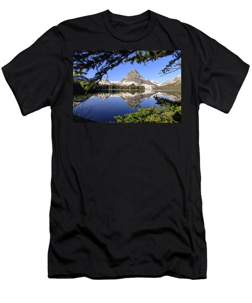 Glimpse Of Paradise Men's T-Shirt (Athletic Fit)