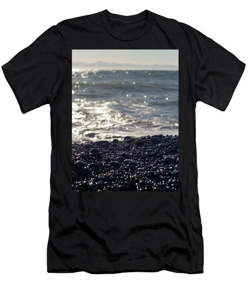Glistening Rocks And The Ocean Men's T-Shirt (Athletic Fit)