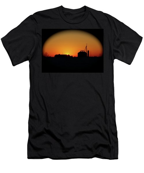 Global Sunset Men's T-Shirt (Slim Fit) by Sue Stefanowicz