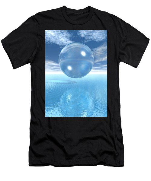 Globe Men's T-Shirt (Athletic Fit)