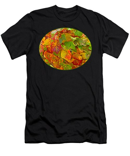 Glorious Autumn Leaves Men's T-Shirt (Athletic Fit)