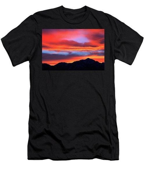 Glorious Sunrise Men's T-Shirt (Slim Fit) by Paul Marto