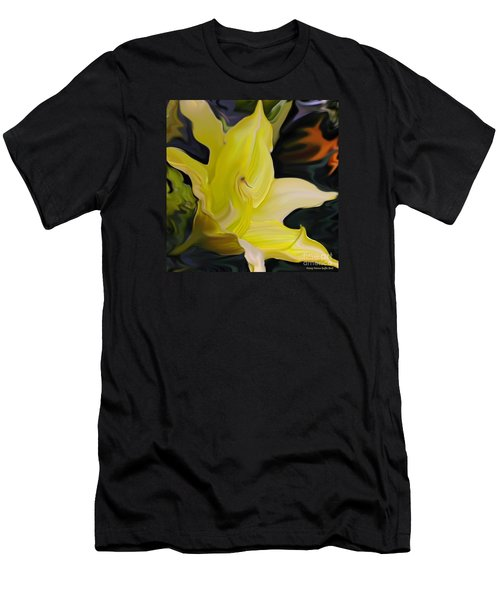 Men's T-Shirt (Slim Fit) featuring the painting Glory II by Patricia Griffin Brett