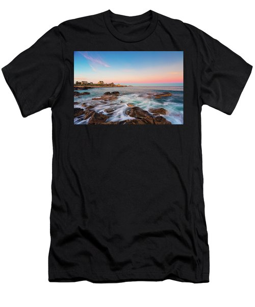 Men's T-Shirt (Athletic Fit) featuring the photograph Gloucester Sunset 1 by Brian Hale