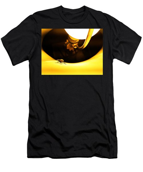 Men's T-Shirt (Athletic Fit) featuring the photograph Glow Fly by Robert Knight