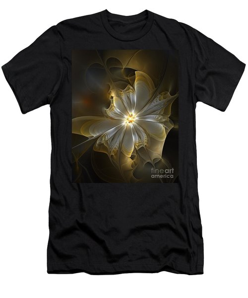Glowing In Silver And Gold Men's T-Shirt (Athletic Fit)