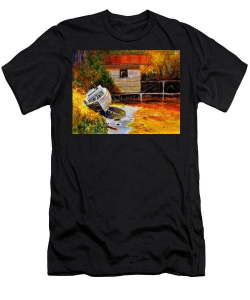 Glowing Light.. Men's T-Shirt (Athletic Fit)