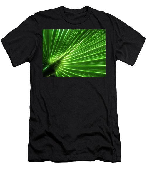 Glowing Palm Men's T-Shirt (Athletic Fit)