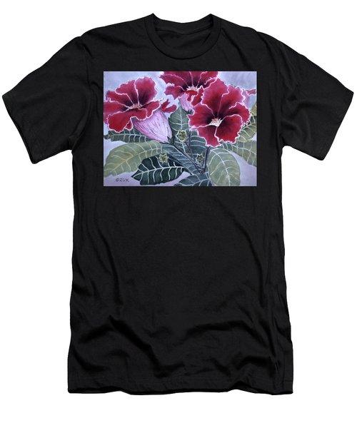 Gloxinias Men's T-Shirt (Athletic Fit)