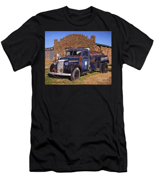 Gmc Tank Truck Men's T-Shirt (Athletic Fit)