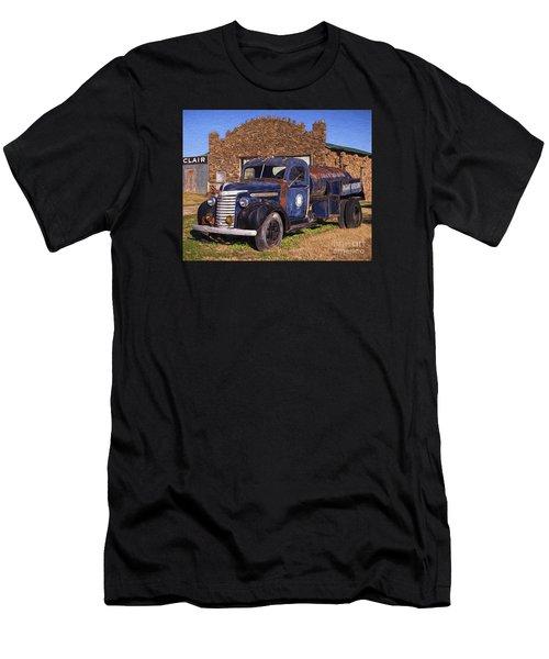 Gmc Tank Truck Men's T-Shirt (Athletic Fit)