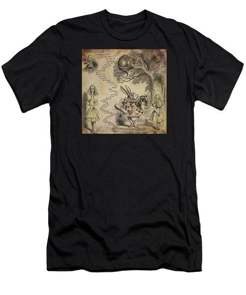 Go Ask Alice Men's T-Shirt (Athletic Fit)