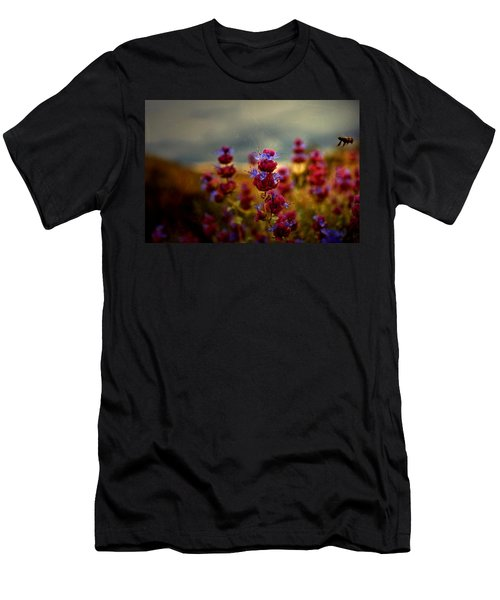 Go Bee Men's T-Shirt (Slim Fit) by Mark Ross