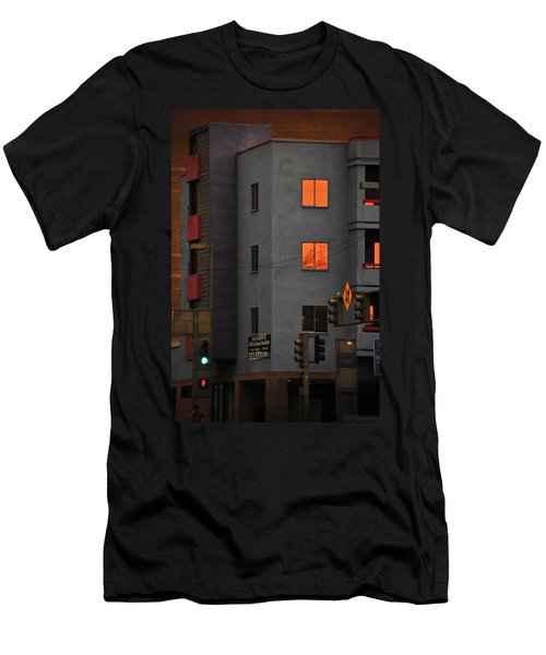 Men's T-Shirt (Slim Fit) featuring the photograph Go by Skip Hunt