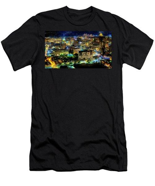 Go Spurs Men's T-Shirt (Athletic Fit)