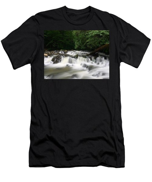 Go With The Flow Men's T-Shirt (Athletic Fit)