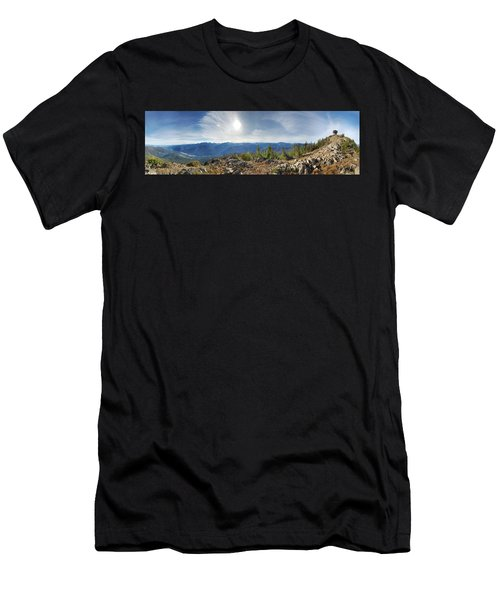 Goat Peak Men's T-Shirt (Athletic Fit)