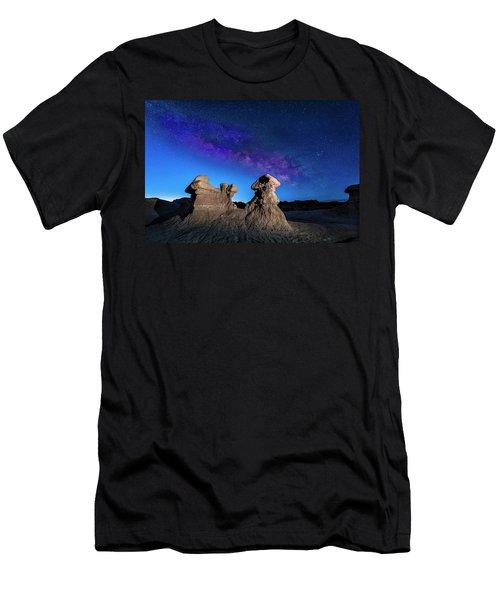 Goblin Milky Way  Men's T-Shirt (Athletic Fit)