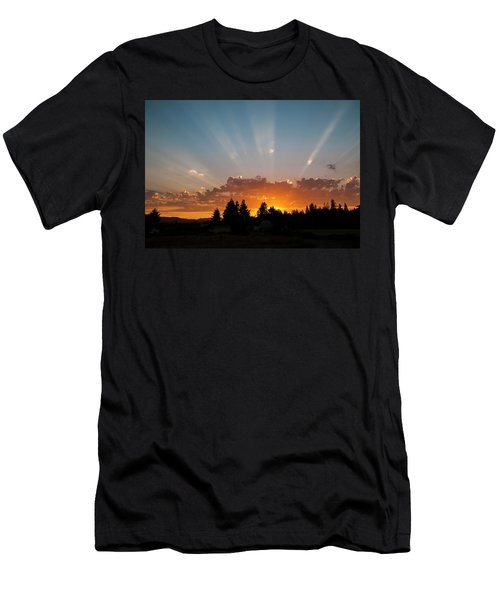 God Beams Men's T-Shirt (Athletic Fit)