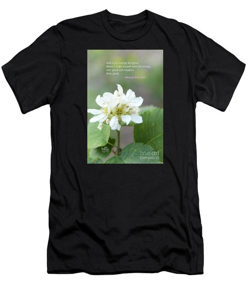 Men's T-Shirt (Athletic Fit) featuring the photograph God Is An Energy by Beauty For God