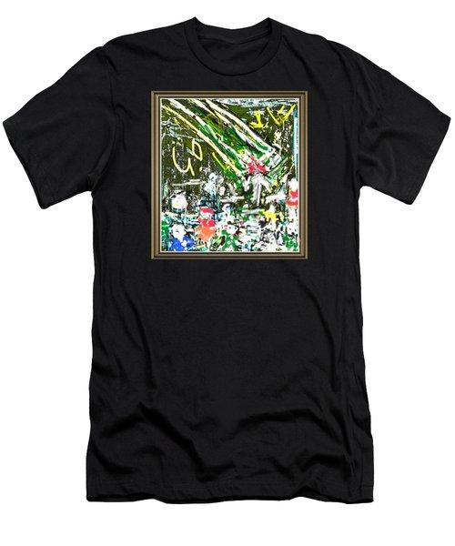 God Lives At The Children Park Men's T-Shirt (Athletic Fit)
