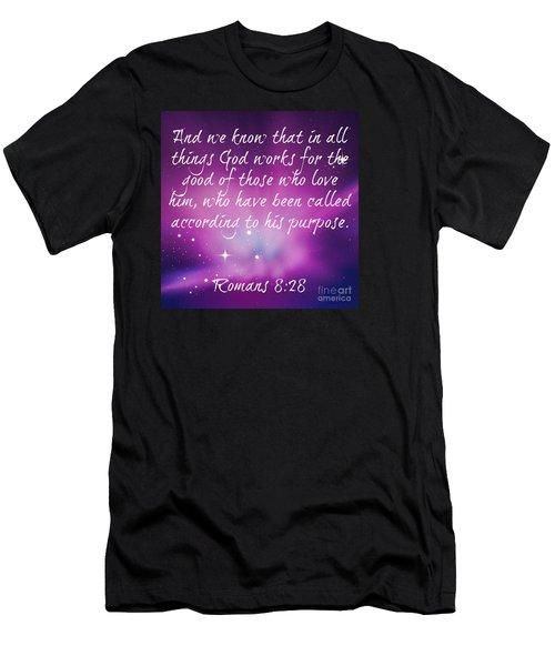 God Works Men's T-Shirt (Athletic Fit)
