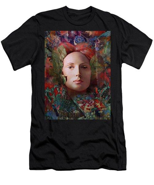 goddess art photography - Fire Queen Men's T-Shirt (Athletic Fit)
