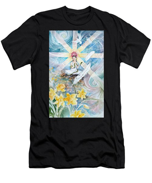 Goddess Awakened Men's T-Shirt (Athletic Fit)
