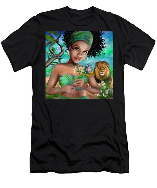 Goddess Bastet Men's T-Shirt (Athletic Fit)