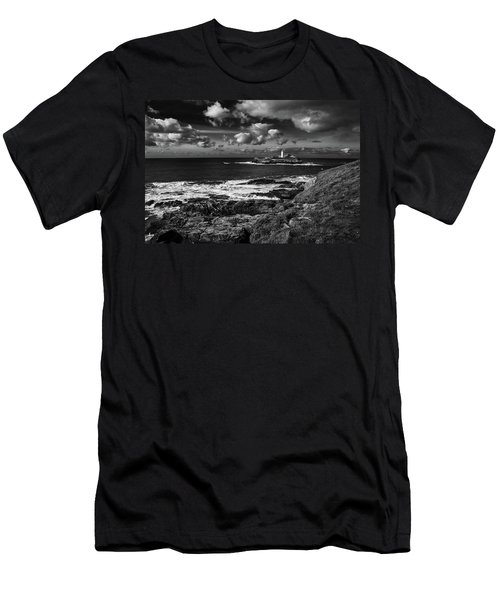 Godrevy Lighthouse 2 Men's T-Shirt (Athletic Fit)