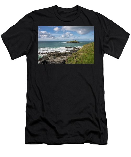 Godrevy Lighthouse 3 Men's T-Shirt (Athletic Fit)
