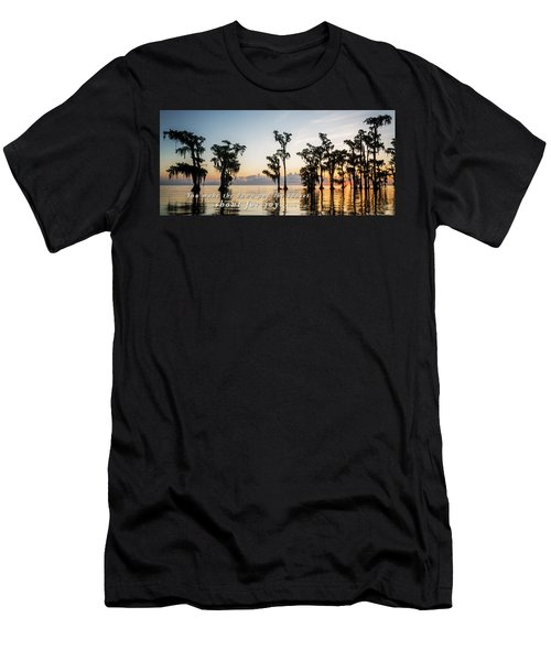 Men's T-Shirt (Slim Fit) featuring the photograph God's Artwork by Andy Crawford