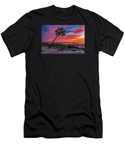Men's T-Shirt (Slim Fit) featuring the photograph God's Grand Finale by Brian Wright