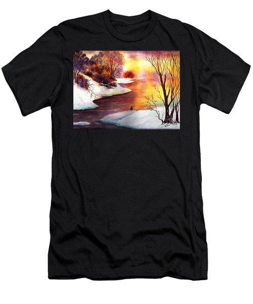 God's Love Letter Men's T-Shirt (Slim Fit) by Hazel Holland