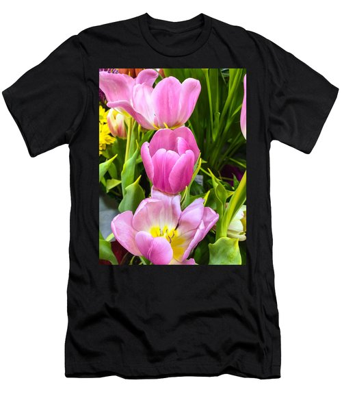 God's Tulips Men's T-Shirt (Athletic Fit)
