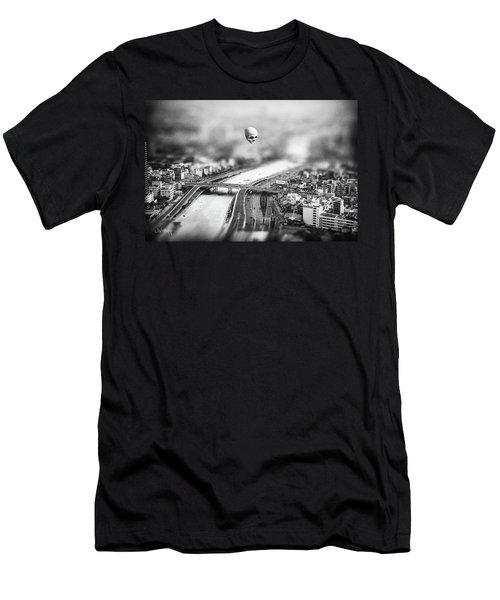 Men's T-Shirt (Athletic Fit) featuring the digital art Godseye 2 by Joseph Westrupp