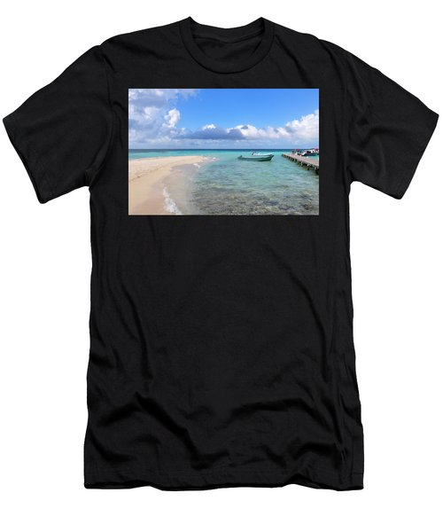 Goff's Caye Island Men's T-Shirt (Athletic Fit)