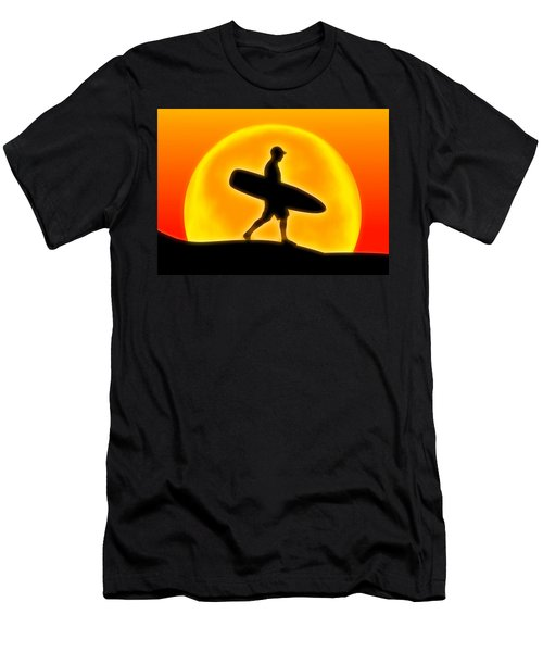 Goin' For A Surf Men's T-Shirt (Athletic Fit)