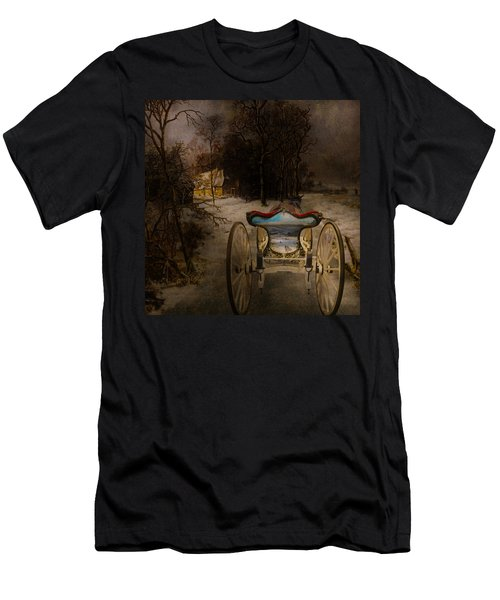 Going Home Men's T-Shirt (Slim Fit) by Jeff Burgess