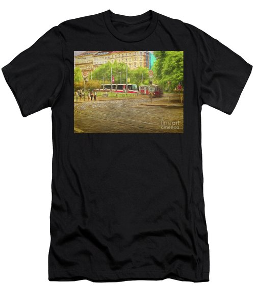 Going Slowly Round The Bend Men's T-Shirt (Athletic Fit)
