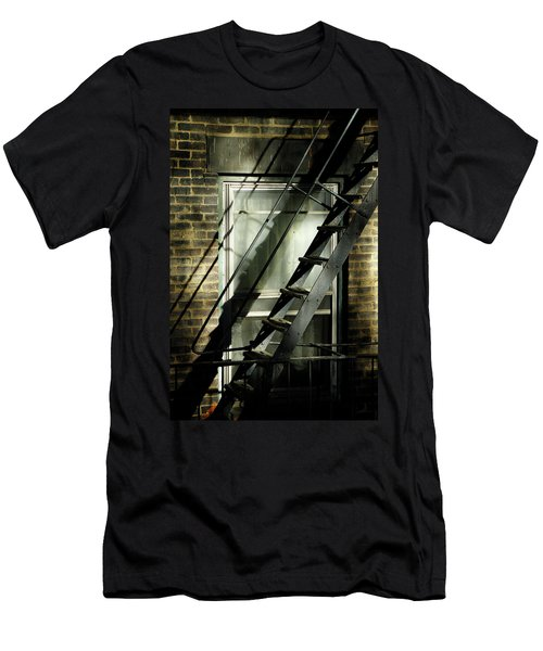 Going Up Men's T-Shirt (Athletic Fit)
