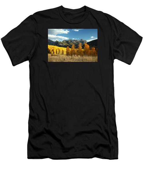Gold At Their Feet Men's T-Shirt (Athletic Fit)